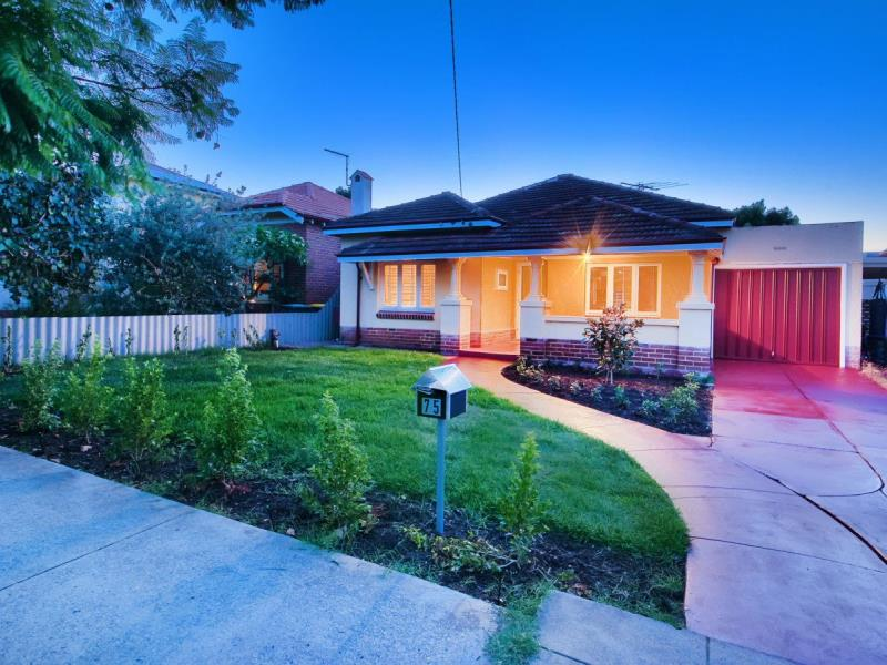 75 East Street Mount Hawthorn - 1 ... & SOLD: 75 East Street Mount Hawthorn WA 6016 | Sold Price: $760000